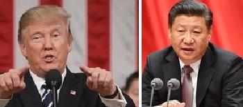 Трамп, Си Цзиньпин
