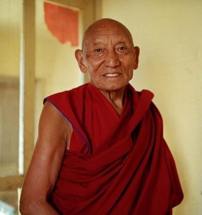 монах, Тибет,