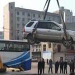 Народные способы наказания нарушителей парковки в Китае