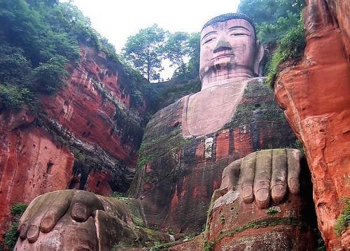 статуя Будды, каменная статуя, Будда Майтрейя,