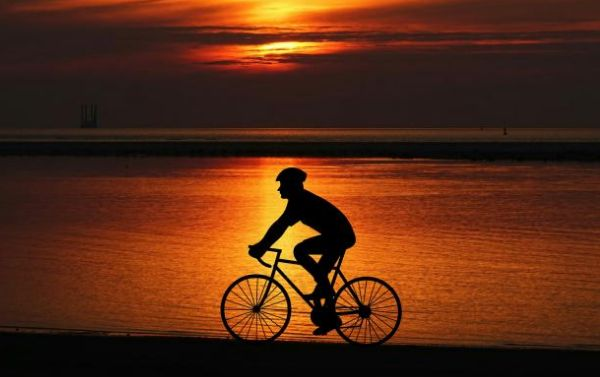 велотурист, туризм, путешествия,