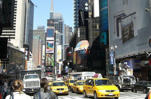 Таймс-сквер, Нью-Йорк,