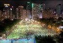 Гонконг, 4 июня, акция памяти,