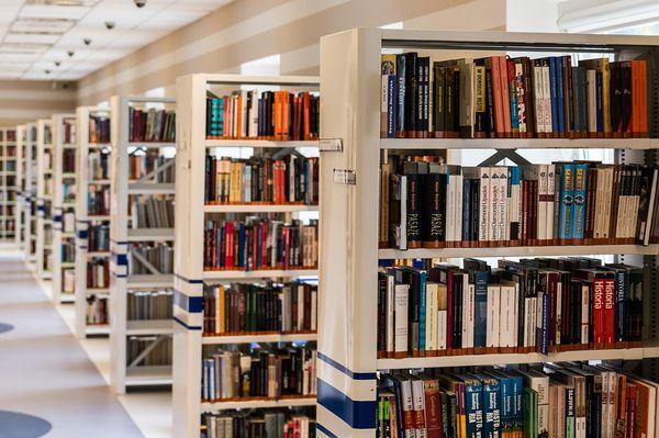 библиотека, книги,